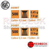 RWS Hobby Pellets Specification
