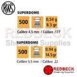 Superdome Pellet Specification