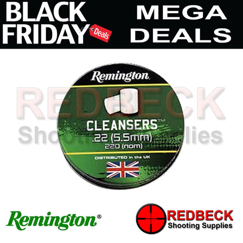 Remmington Cleaning Pellets or cleaning felts for airrifles and airguns