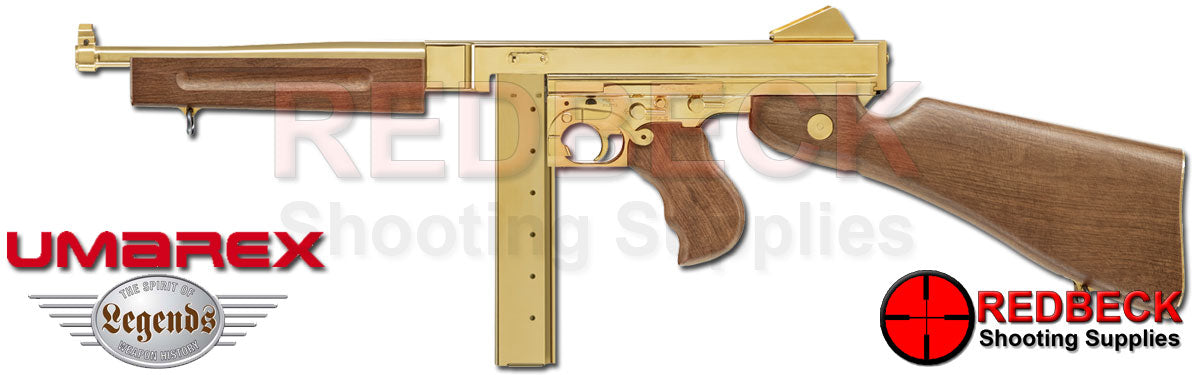 Umarex Legends M1A1 Gold Version Legendary CO2 BB Submachine gun