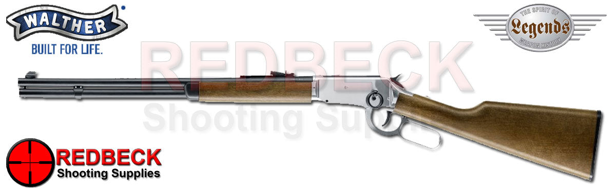 Umarex legends Cowboy Lever Action Polished Chrome Silver .177 BB Airrifle