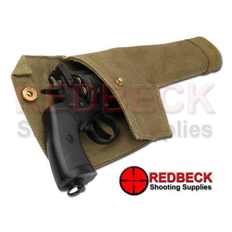 open Webley MKVI Canvas Holster