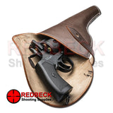 Webley MKVI brown Leather Holster