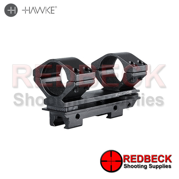 "Hawke Adjustable 1"" Piece 9-11mm High"