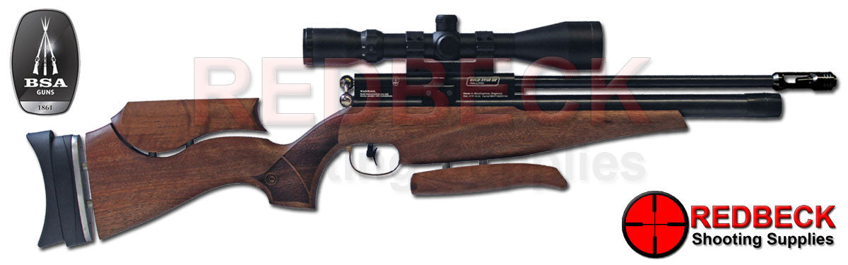 BSA GoldStar SE Walnut Air Rifle