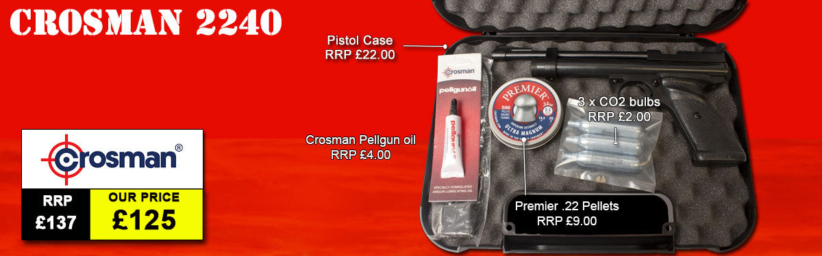 Crosman 2240 Starter Kit Package Deal