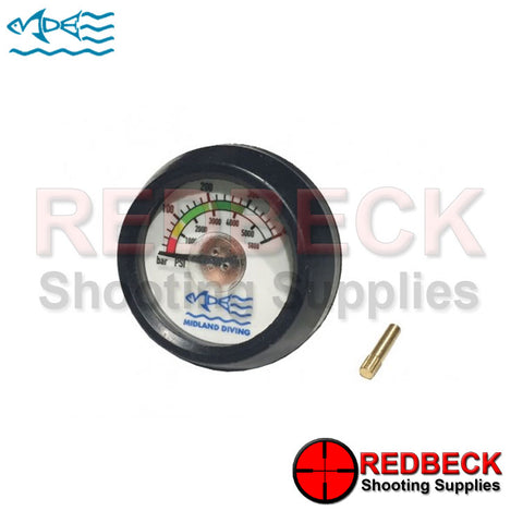 Midland 300 Bar Gauge for dive bottle