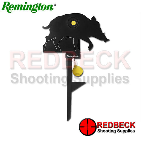 Remington Knockdown and Auto Reset Target- Hog