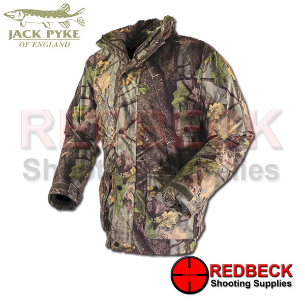 Jack Pyke Hunters Jacket in Evolution Camo