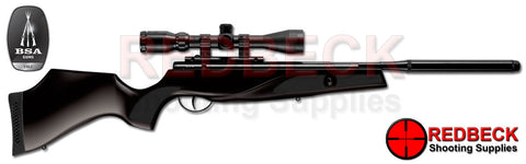 BSA Lightning XL SE Black tactical Air Rifle