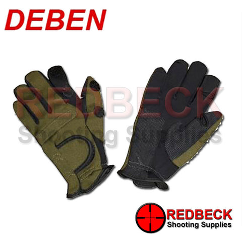Deben Green Neoprene Gloves