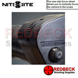 NiteSite Viper RTEK Night Vision Kit side focus wheel