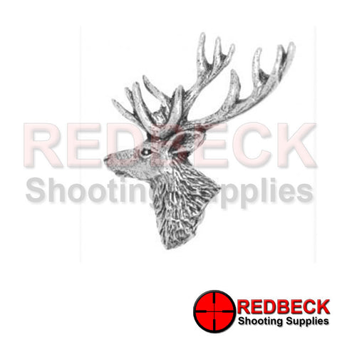 Pewter Stag Pin Badge