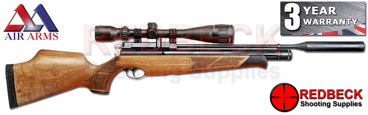 Air Arms S400 Walnut air rifle