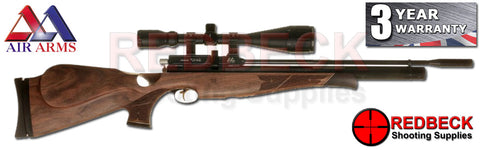 Air Arms S410 Walnut Thumbhole