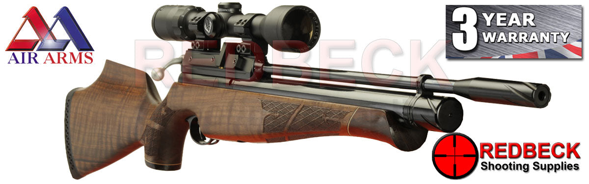Air Arms S410 Walnut air rifle