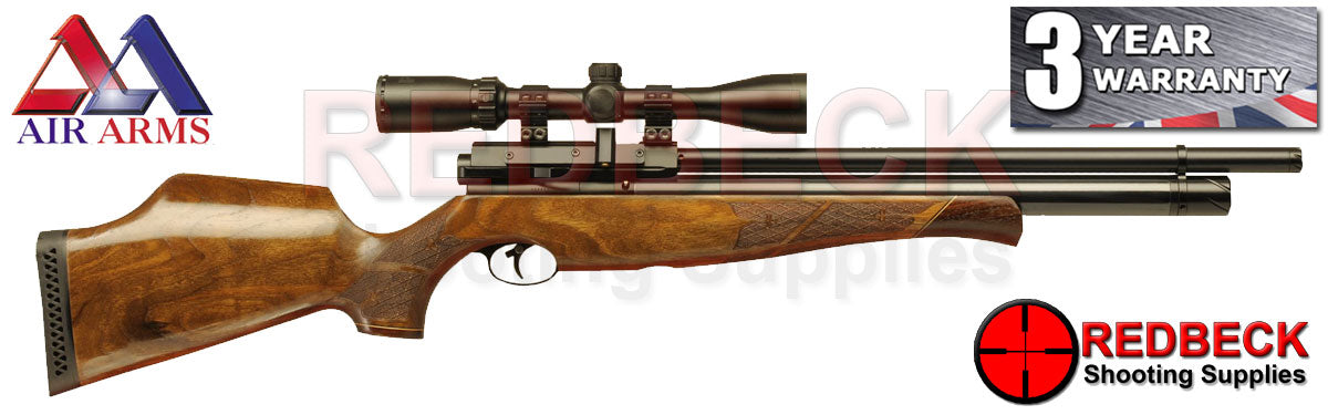 Air Arms S510 Walnut air rifle