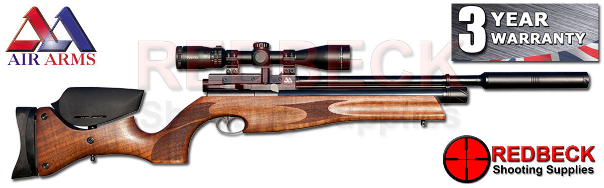 Air Arms s510 Ultimate sporter Walnut Regulated