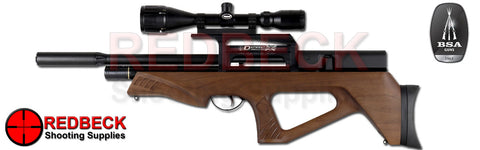 BSA Defiant Walnut air rifle
