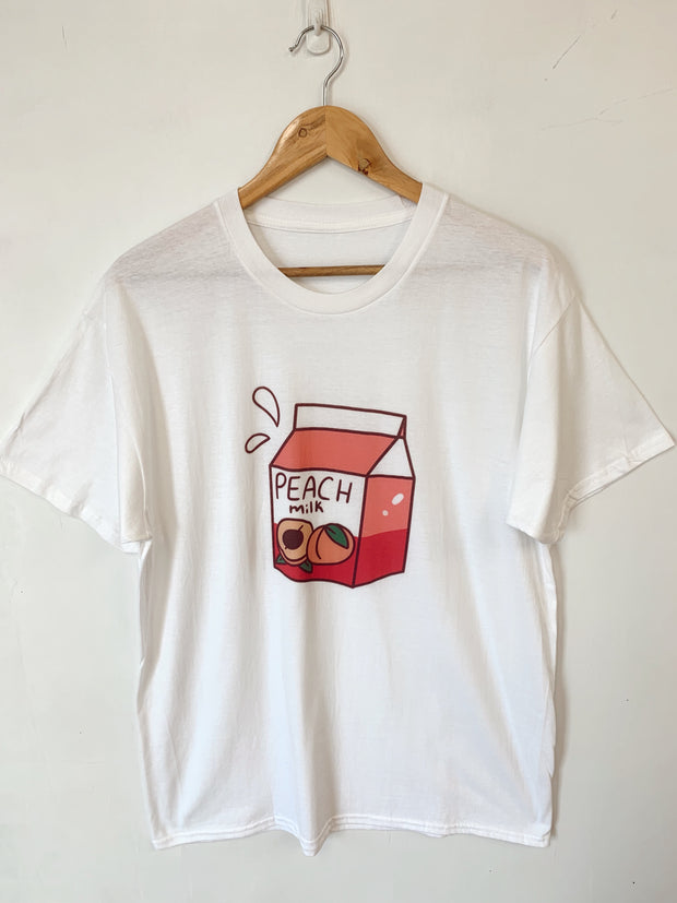 Peach Milk Oversized Tee