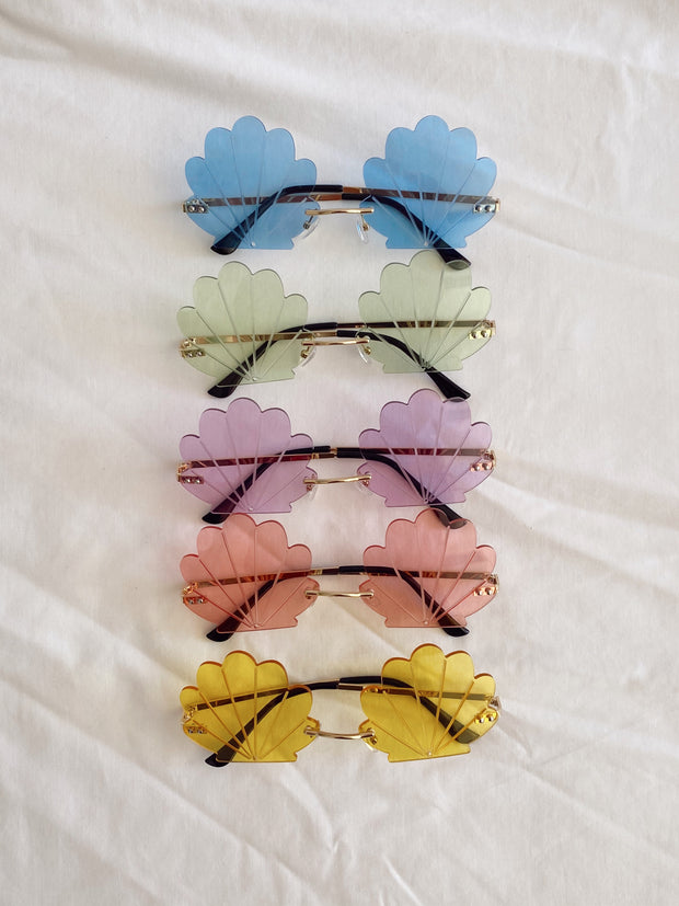 Mermaid Shell Sunglasses