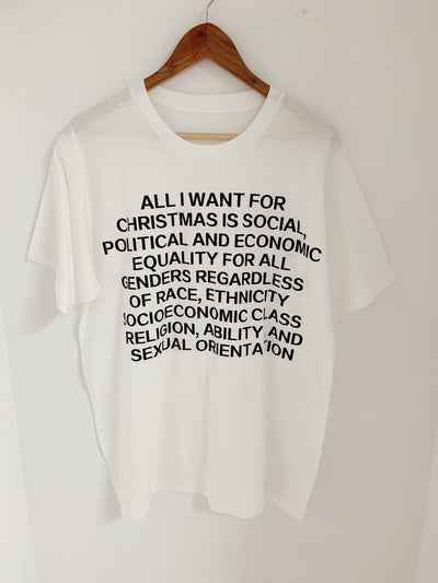 All I want for Christmas Oversized Tee