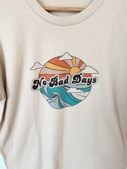 No Bad Days Oversized Tee