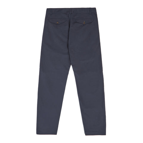 Universal Works Aston Pant In Navy Twill