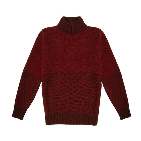 Sweater in Two-Tone