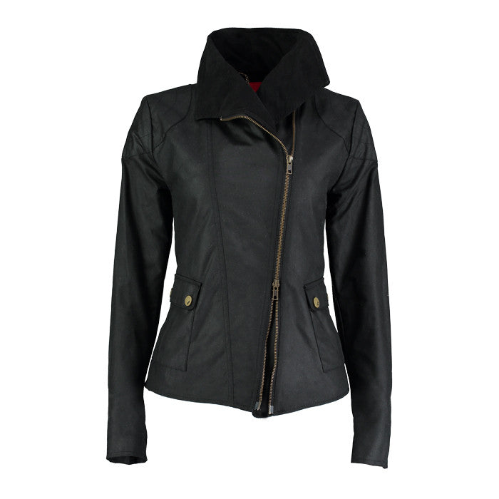Archie Foal Women's Nea Wax Cotton Jacket in Black