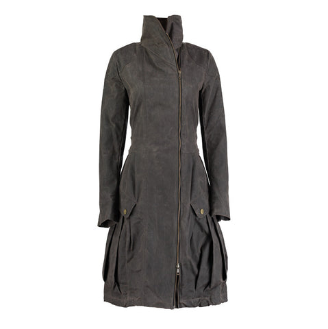 Folk Women's Navy Hepburn Coat WFW3001W