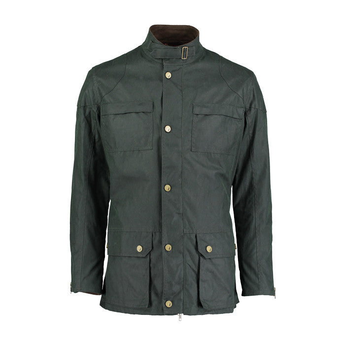 Biker field jacket in Green