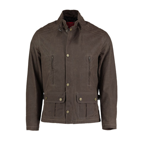 Folk Men's Gabe Jacket in Desert Red