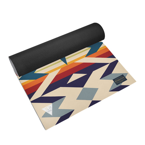 PENDLETON FIRE LEGEND YOGA MAT