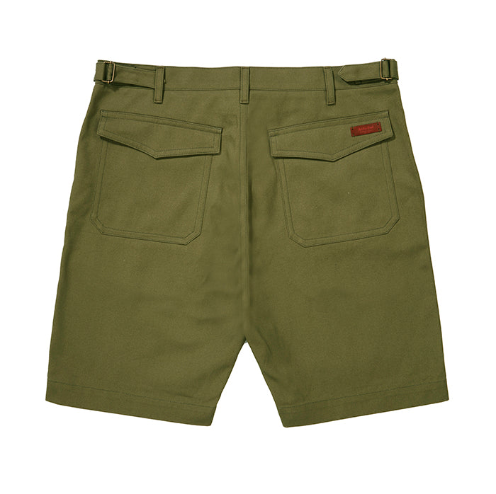 Archie Foal Men's Sage Aksel Heavy Cotton Shorts