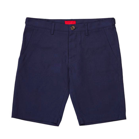 Archie Foal Men's Navy Aksel Heavy Cotton Shorts