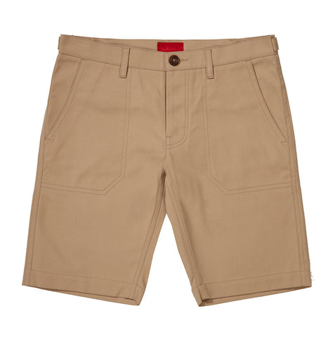 Archie Foal Men's Sand Aksel Heavy Cotton Shorts
