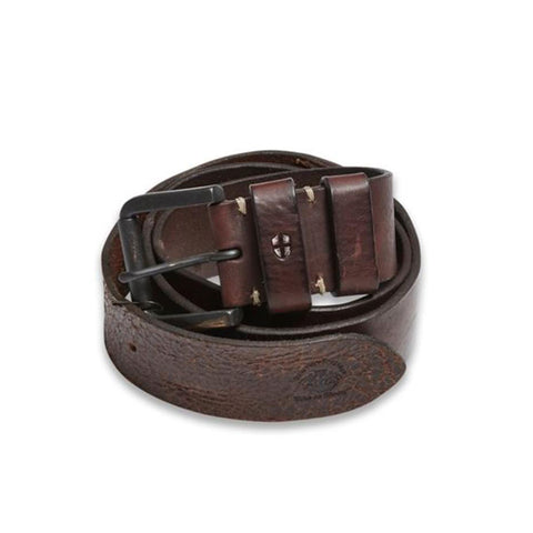 Blue de Genes Mens Piceno Cognac Brown Leather Belt