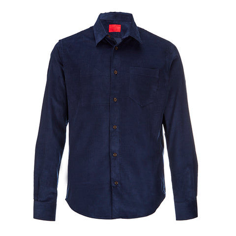 Filson Quilted Jac- Shirt in Faded Navy