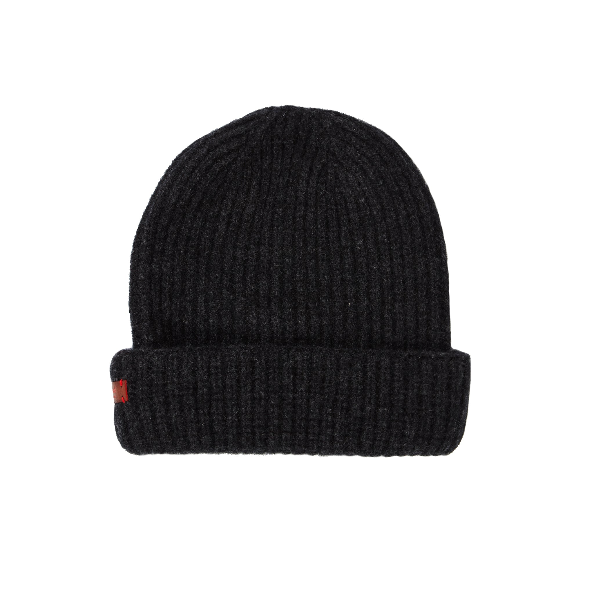 Archie Foal Kade Ribbed Beanie Hat - Charcoal