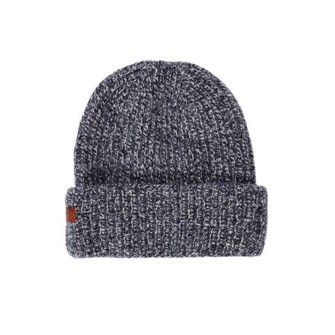 Archie Foal Unisex Kade Ribbed Beanie Hat in Two Tone