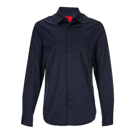 Archie Foal Men's Halden Navy Corduroy Shirt