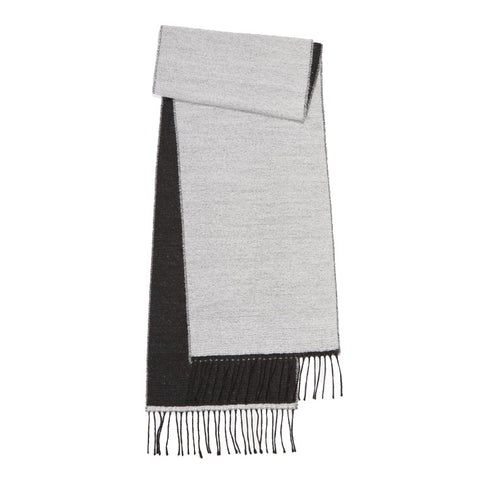Universal Works Scarf in White/Black