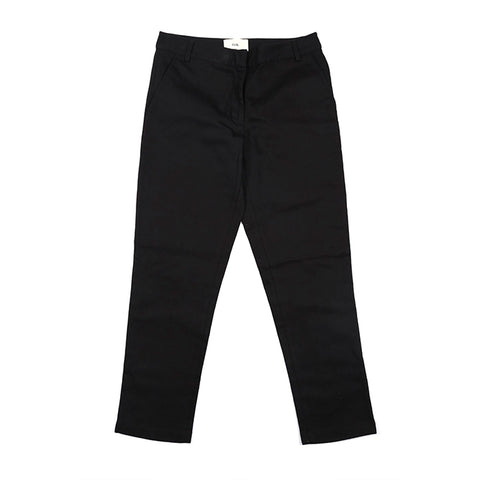 Archie Foal Women's Astrid Button Wool Trouser in Ink