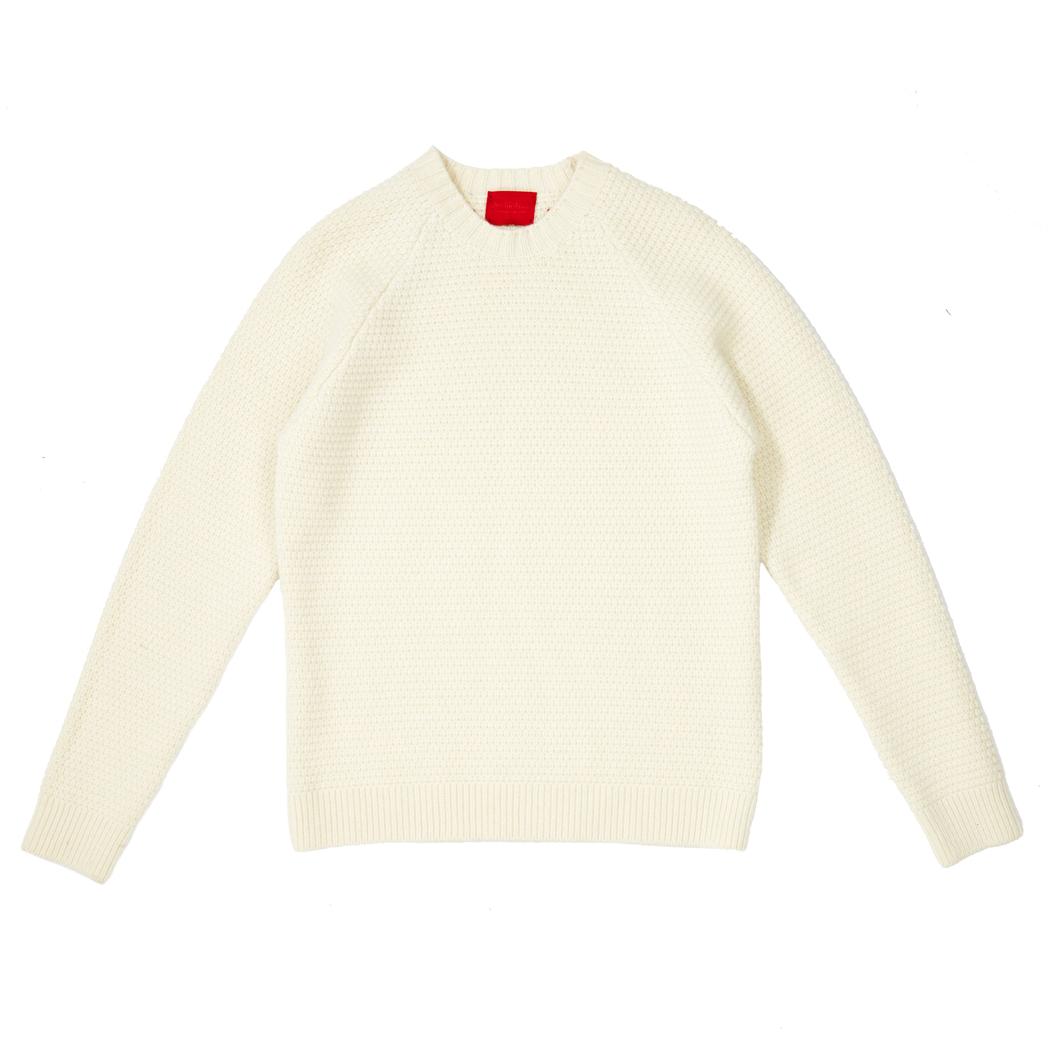 ARCHIE FOAL MEN'S COLM SWEATER IN CREAM