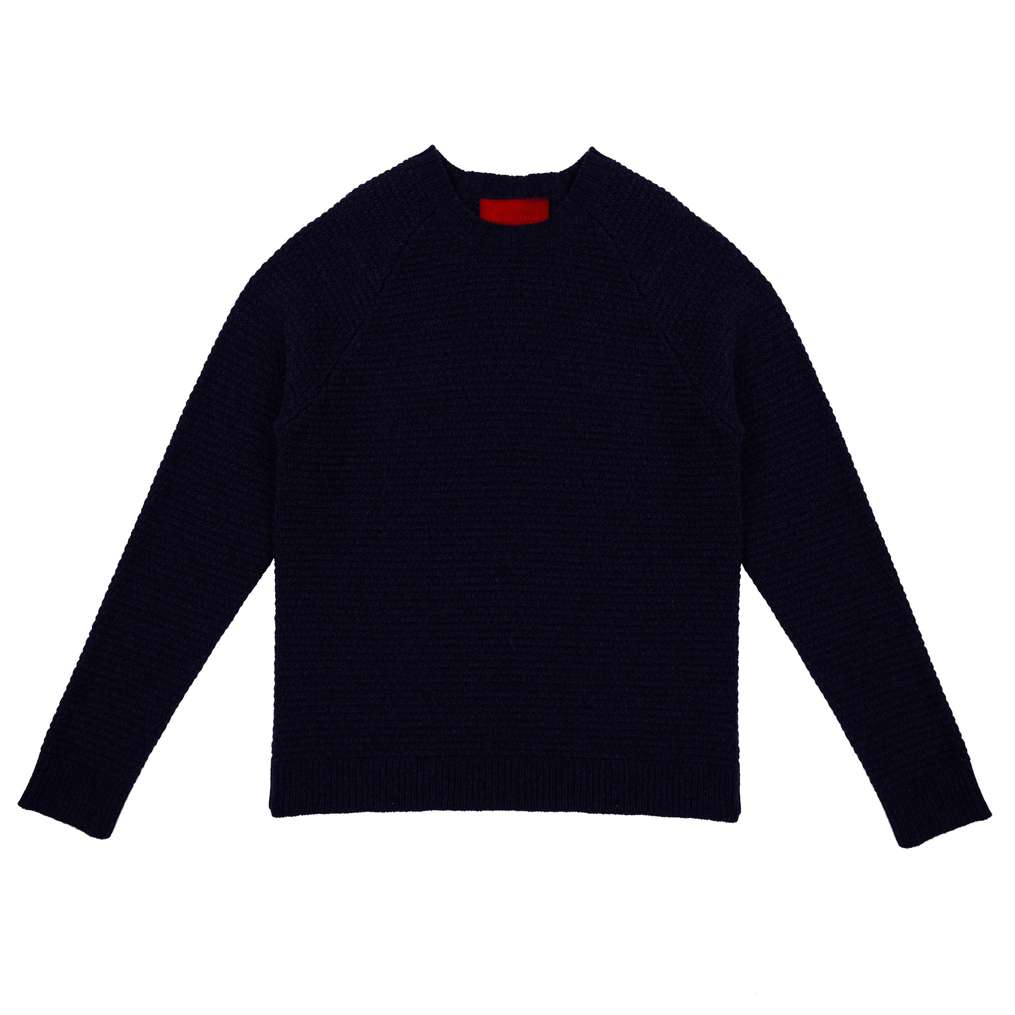 Archie Foal Men's Colm Sweater in Navy