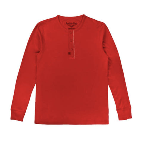 Archie Foal Gael Henley Top in Chilli (Red)