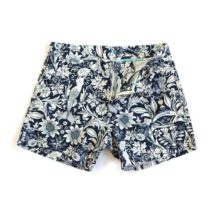RIZ BOARDSHORTS MORRIS-SEA BUCKLER SHORT IN NAVY