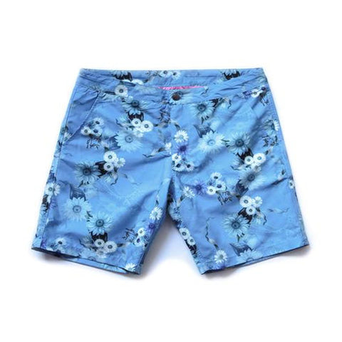 RIZ BOARDSHORTS ENDANGERED BEE BLYTHE SHORT IN CHALK