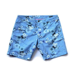 RIZ BOARDSHORTS BRAUNTON SHORT IN WAVE FLOWER SKY